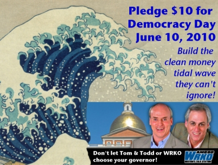 Build the clean money tidal wave they can't ignore